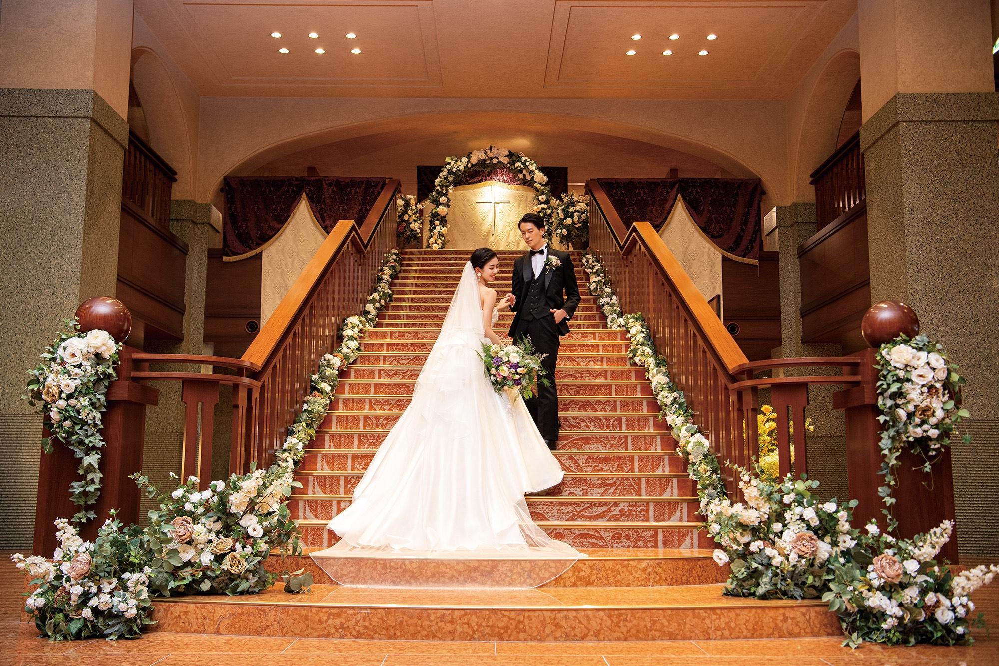 結婚式の魅力
