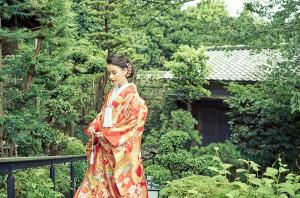 粟田山荘 和装写真撮りプラン