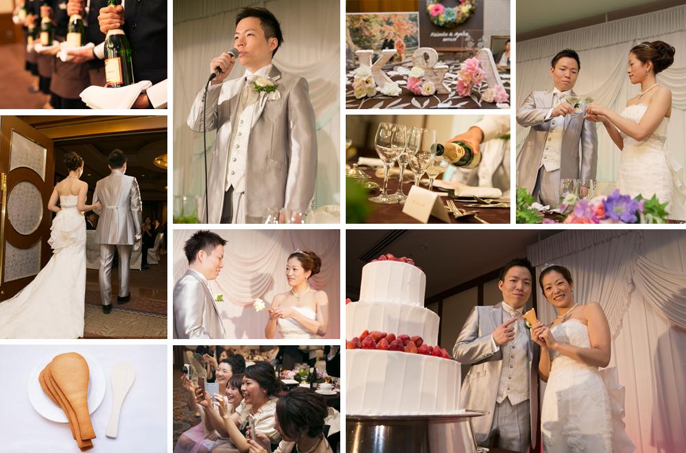 自分たちに似合う「大人ラグジュアリー」な結婚式 ウエディングレポートイメージ3